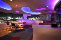 futurystyczna restauracja