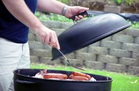 grillowanie kiełbasek